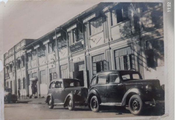 Factory at Byculla, Bombay in the 50's