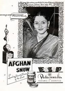 First Miss India concert was sponsored by the Afghan Snow in 1952.